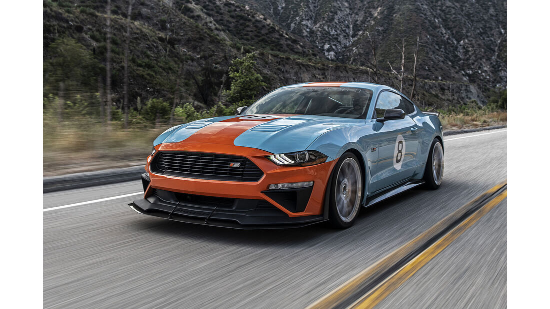 08/2019, 2019 Roush Ford Mustang Stage 3 im Gulf-Design