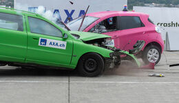 08/2019, AXA Elektroauto-Crashtest Dübendorf 22.08.2019