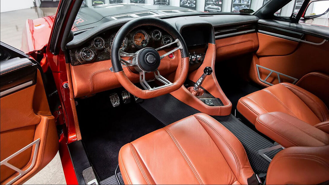 08/2020, 1967 Ford Mustang Fastback Restomod Ringbrothers
