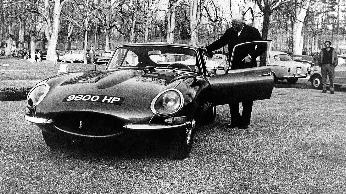 08/2020, 60 Jahre Jaguar E-Type 9600HP