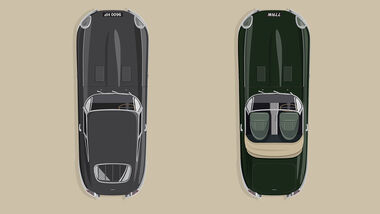 08/2020, 60 Jahre Jaguar E-Type Sonderedition