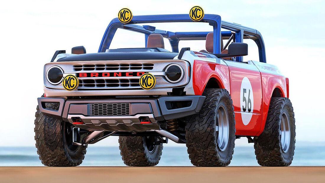 08/2020, Ford Bronco Baja Racer