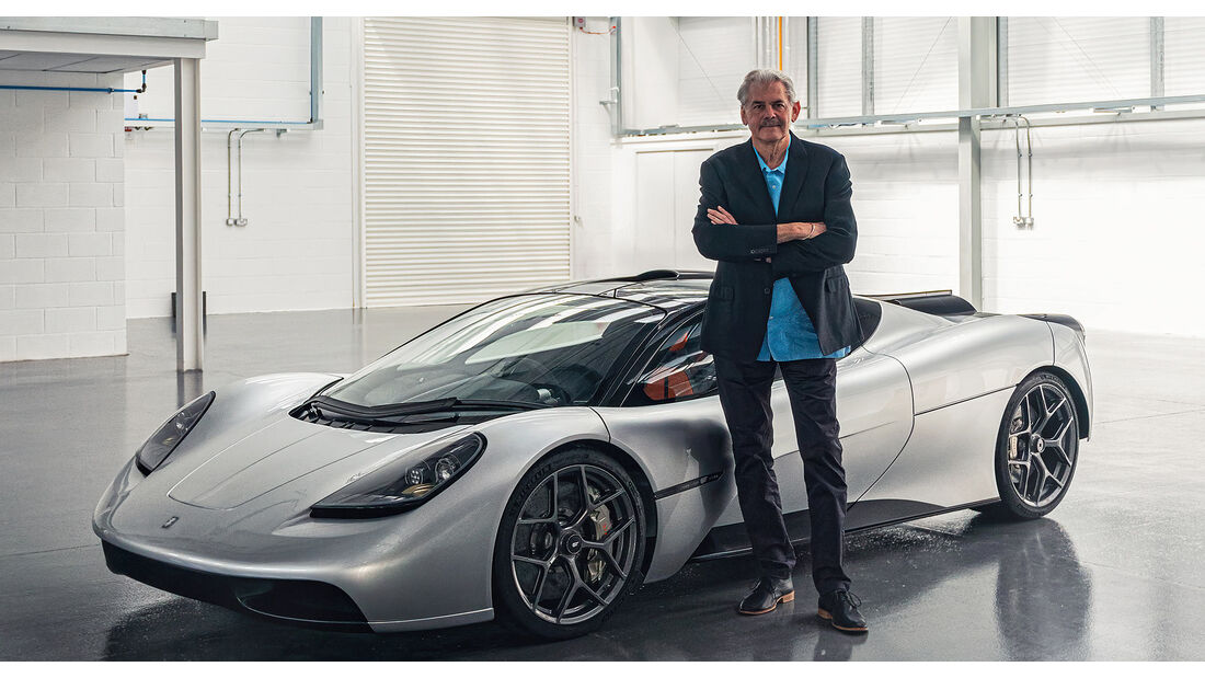 08/2020, Gordon Murray Automotive T.55