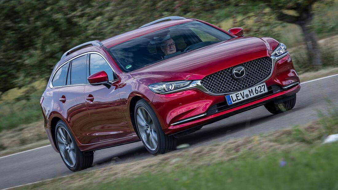 08/2020, Kosten und Realverbrauch Mazda 6 Kombi Skyactiv-G 165