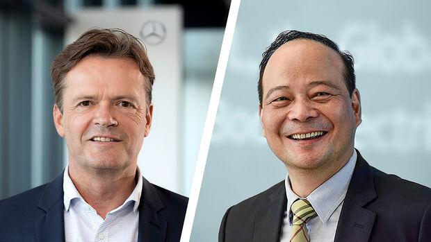 08/2020, Markus Schäfer und Dr. Robin Zeng