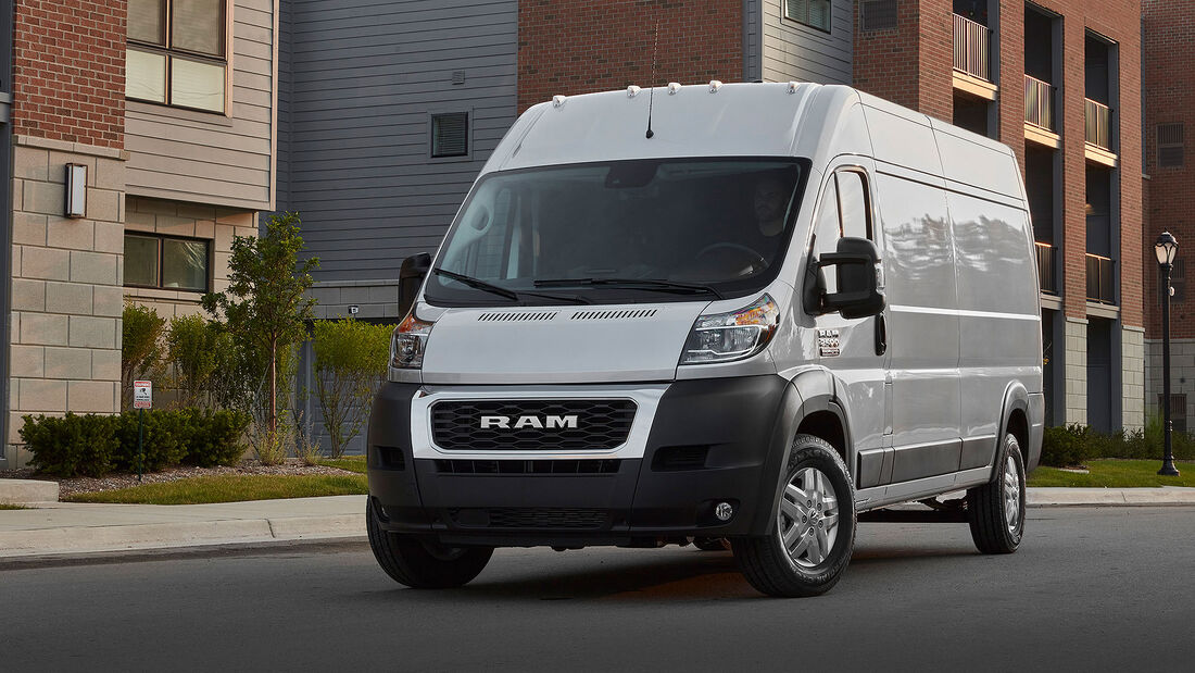 08/2021, 2022 Ram Promaster Facelift