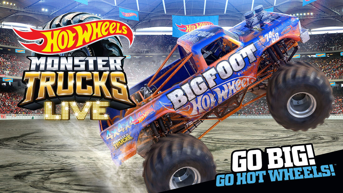 08/2021, Big Foot Hot Wheels Monster Trucks Live 2021