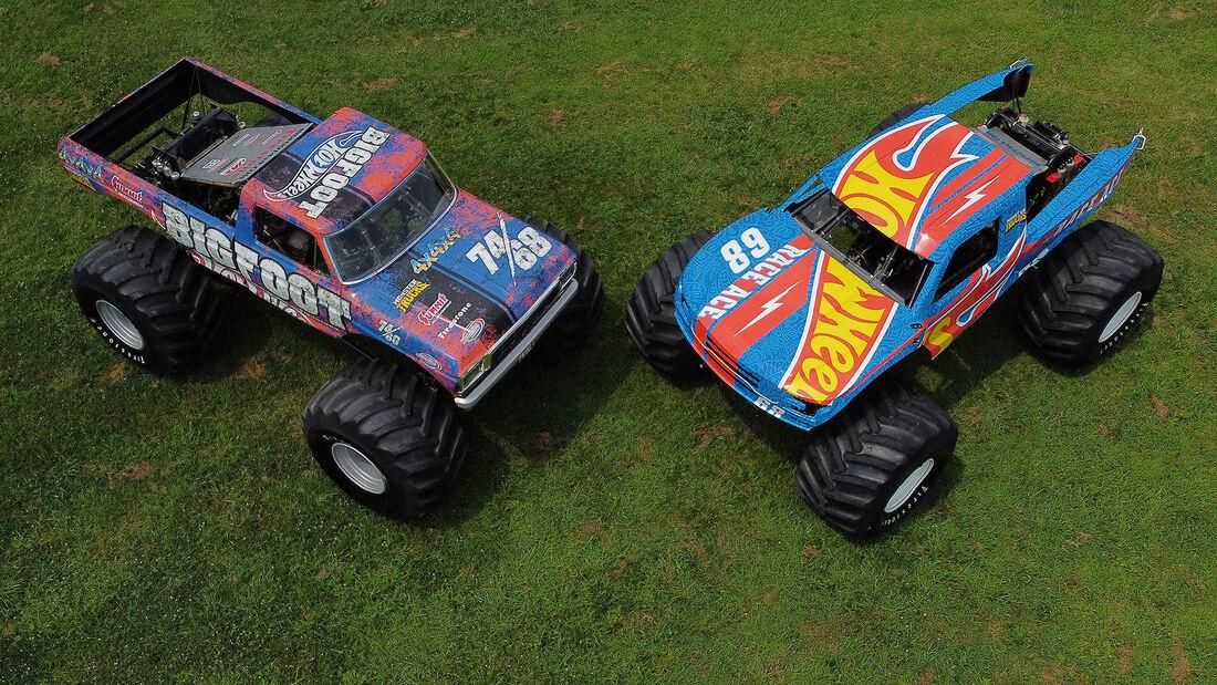 08/2021, Big Foot und Race Ace Hot Wheels Monster Trucks Live 2021
