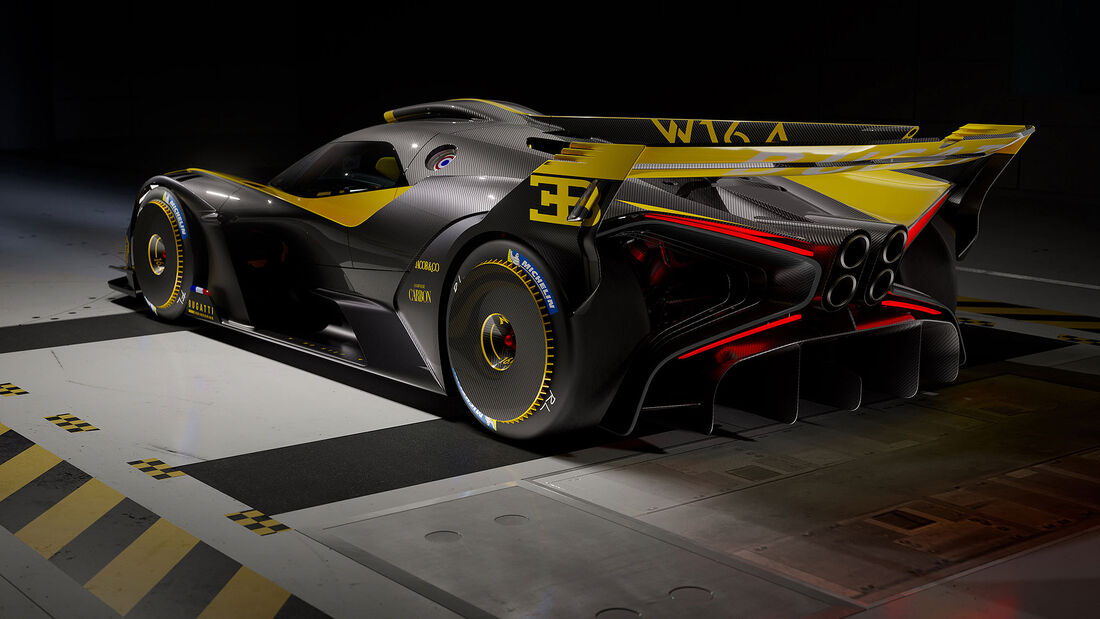08/2021, Bugatti Bolide Serienversion
