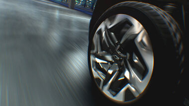 08/2021, Chevrolet Silverado EV Rad Felge Vierradlenkung