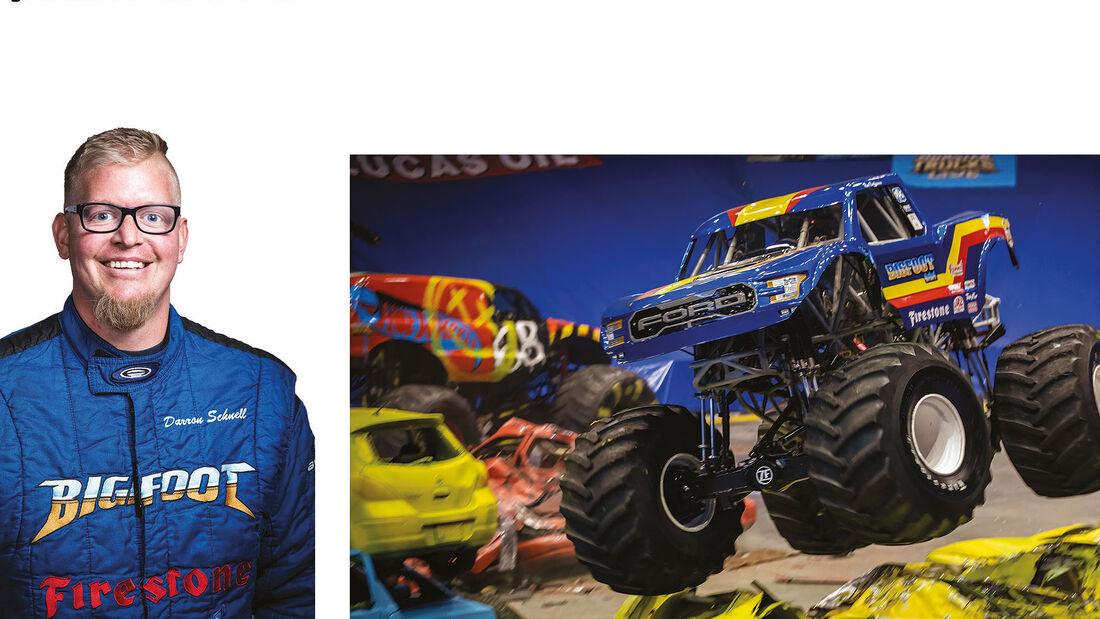 08/2021, Darren Schnell Hot Wheels Monster Trucks Live 2021