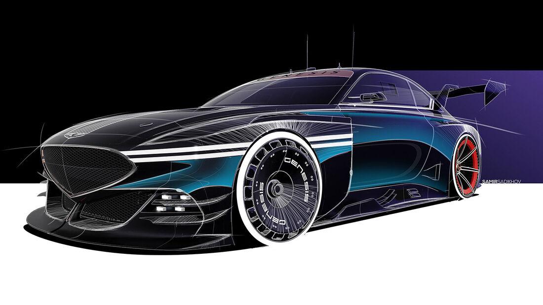 08/2021, Genesis Rennwagen-Studien Monterey Car Week 2021