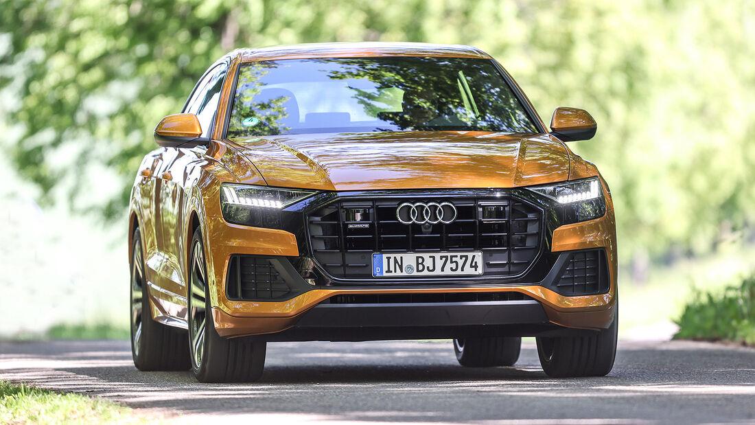 08/2021, Kosten und Realverbrauch Audi Q8 50 TDI Quattro