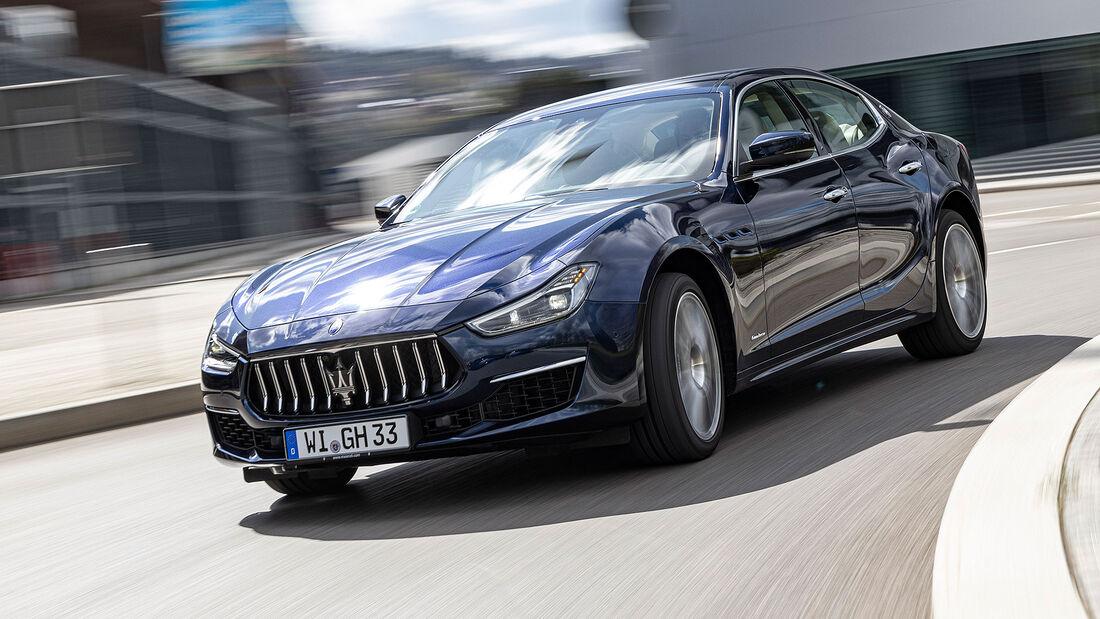 08/2021, Kosten und Realverbrauch Maserati Ghibli Hybrid Granlusso