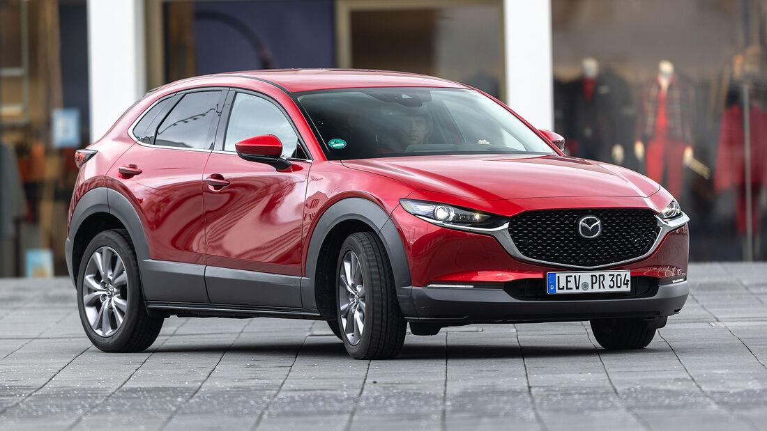 08/2021, Kosten und Realverbrauch Mazda CX-30 Skyactiv-G 2.0 M Selection
