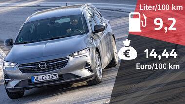 08/2021, Kosten und Realverbrauch Opel Insignia Sports Tourer 2.0 DI Turbo Business Elegance