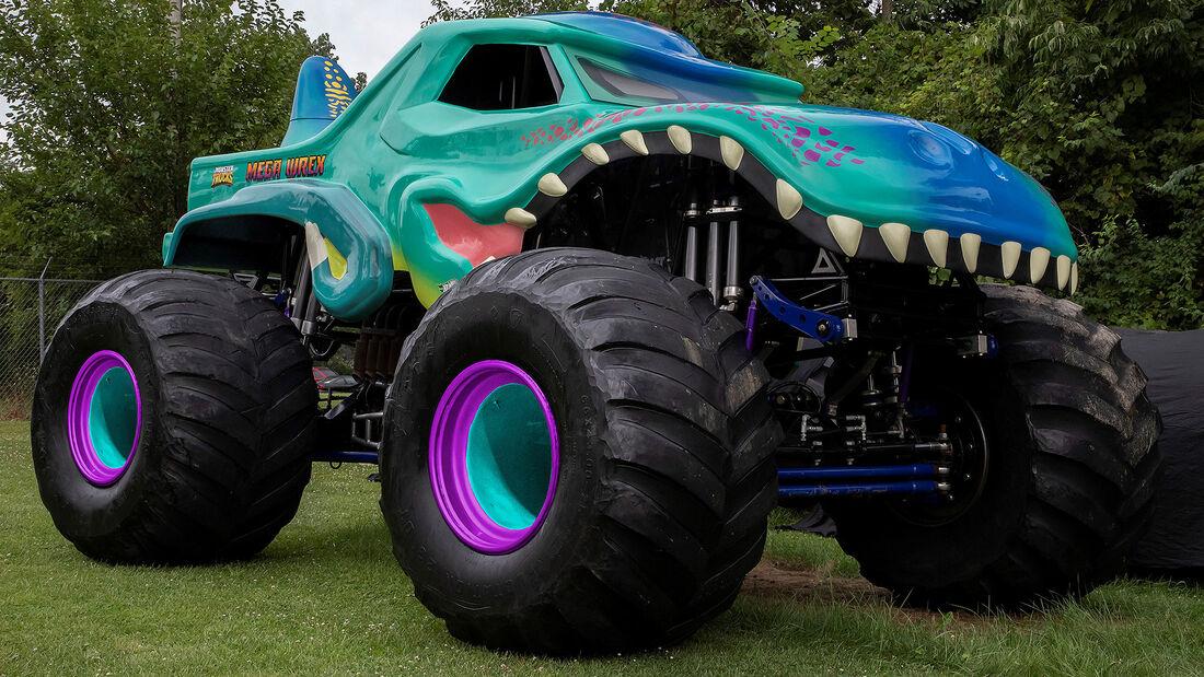 08/2021, Mega Wrex Hot Wheels Monster Trucks Live 2021