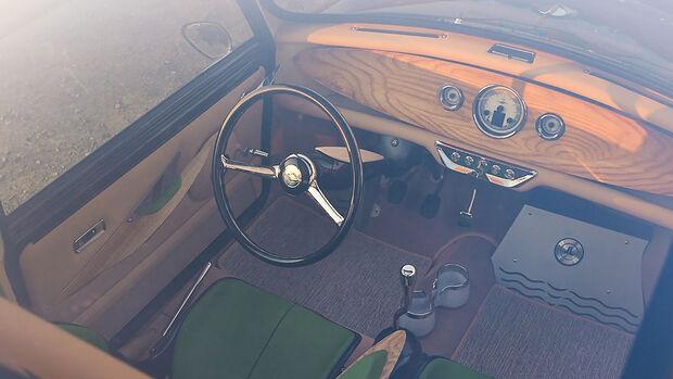 08/2021, Mini Restomod mit Honda Mittelmotor