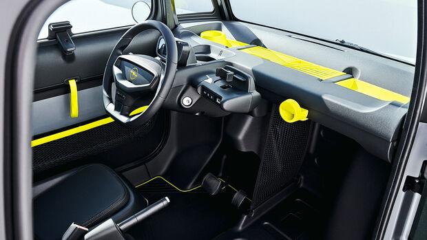 08/2021, Opel Rocks-e Kleinstwagen Elektroantrieb