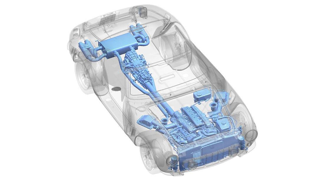 08/2021, RML Short Wheelbase V12 Saugmotor