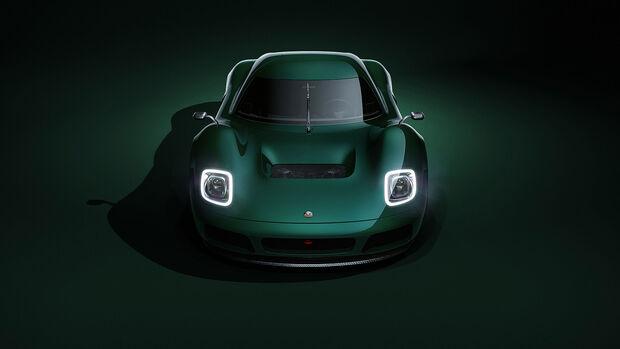08/2021, Radford Type 62-2 Classic auf Lotus-Basis