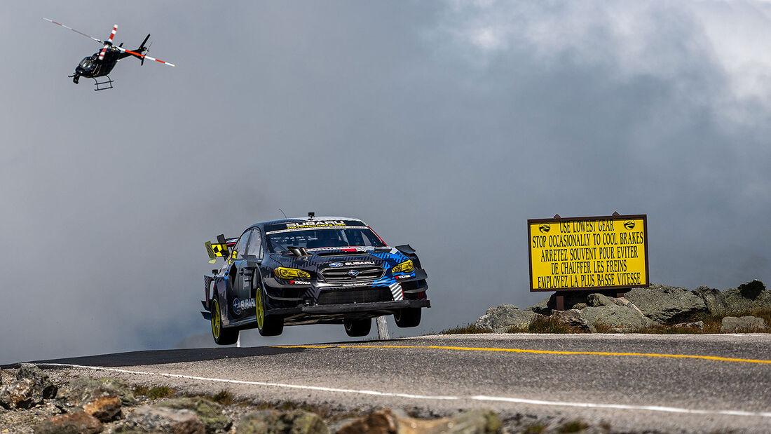 08/2021, Subaru WRX STI Travis Pastrana Hillclimb Mt. Washington