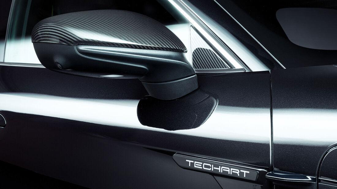 08/2021, Techart Porsche Taycan Karbon Aerodynamik Paket