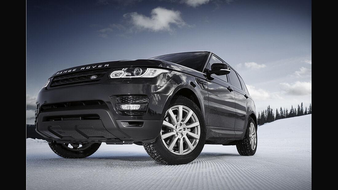 0814, Winter-Alufelgen, AEZ Reef silber Range Rover