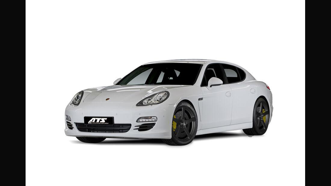 0814, Winter-Alufelgen, ATS Sprintlight schwarz Porsche Panamera