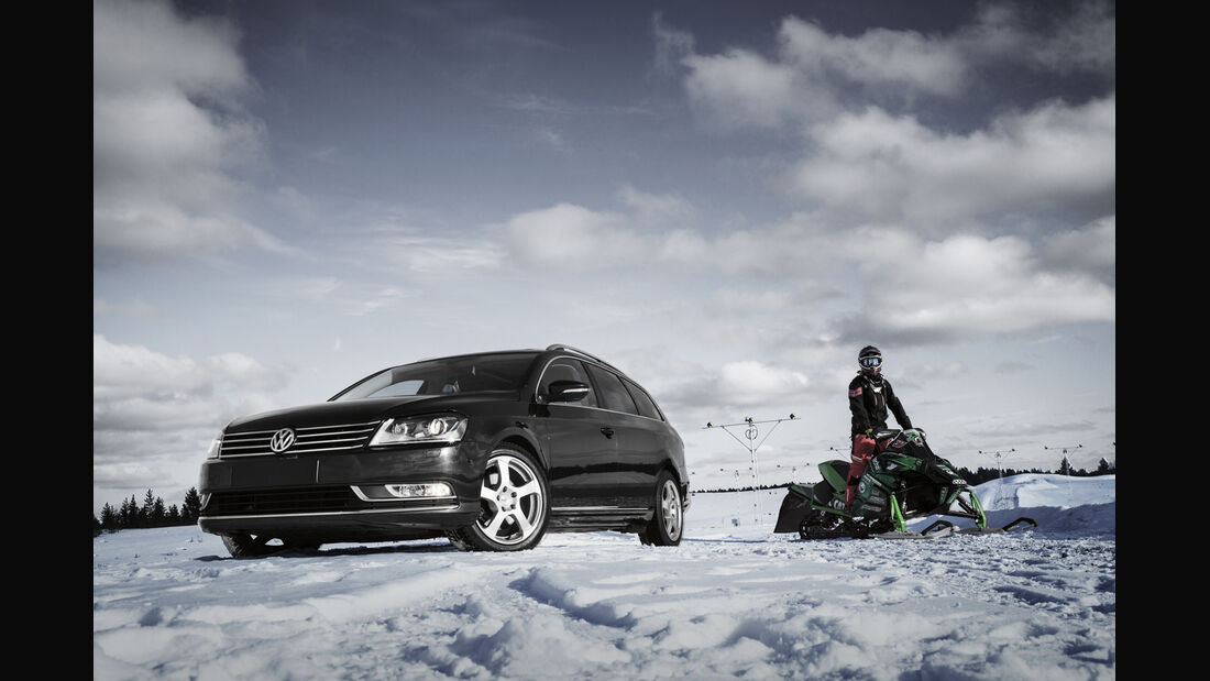 0814, Winter-Alufelgen, DOTZ Freeride silber VW Passat