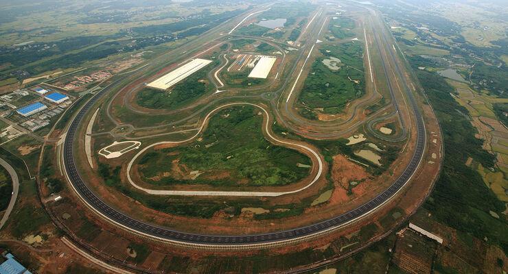 09/2012, Teststrecke, GM Guangde China