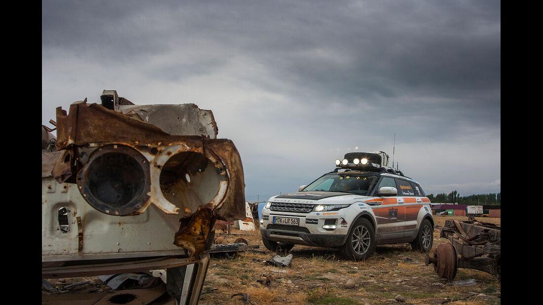 09/2013 Land Rover Experience 2013 Seidenstraße