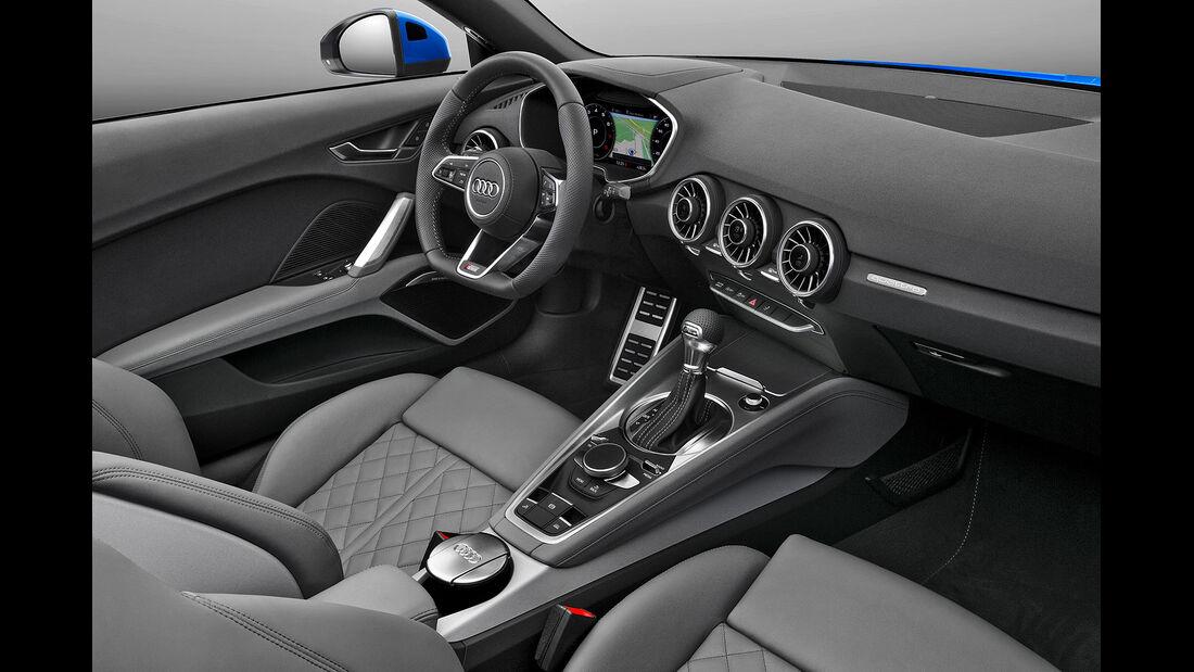 09/2014 Audi TT Roadster, Innenraum