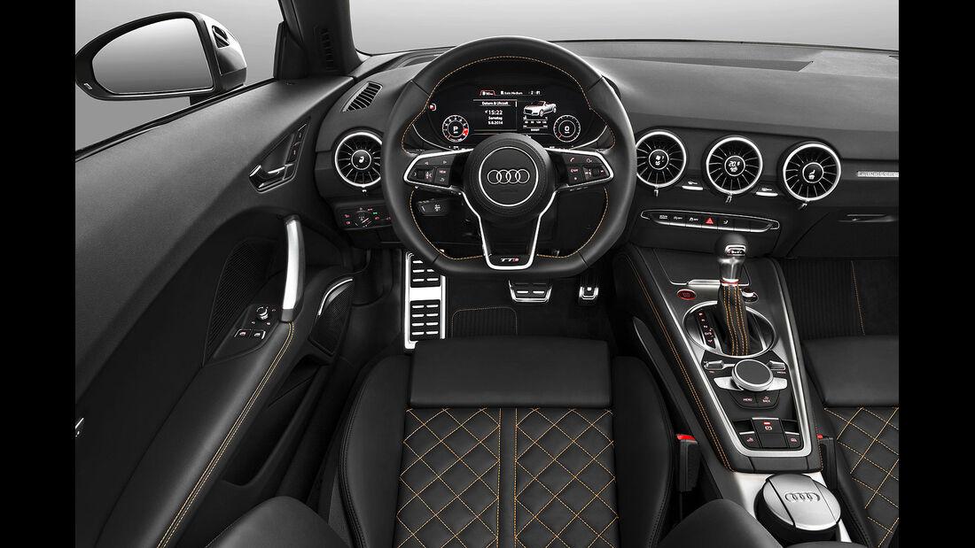09/2014 Audi TTS Roadster, Innenraum