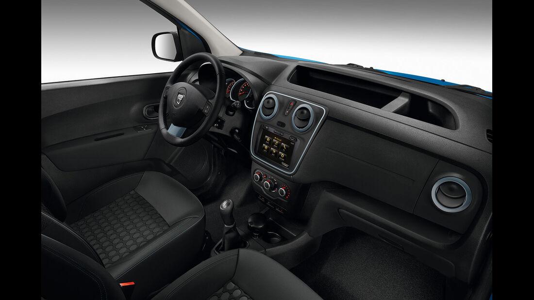 09/2014, Dacia Dokker Stepway, Innenraum