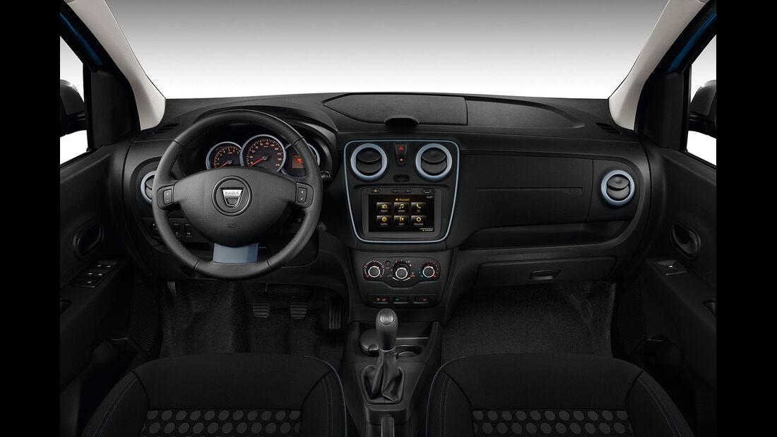 09/2014, Dacia Lodgy Stepway, Innenraum