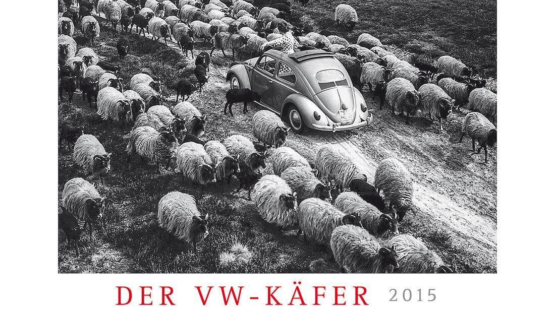 09/2014 - Delius Klasing Kalender 2015, VW Käfer 2015, Bulli-Parade 2015, mokla 0914