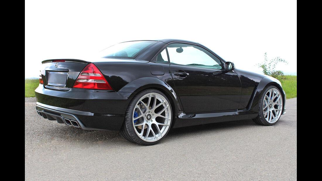 09/2014, Lumma R 170 Mercedes SLK Black Move