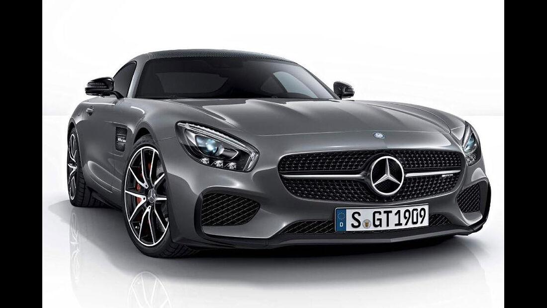 09/2014 Mercedes AMG GT Edition 1 Erlkönig