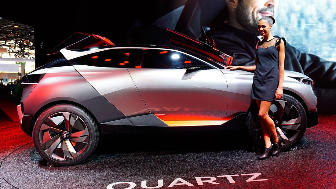 09/2014, Peugeot Quartz Concept Paris