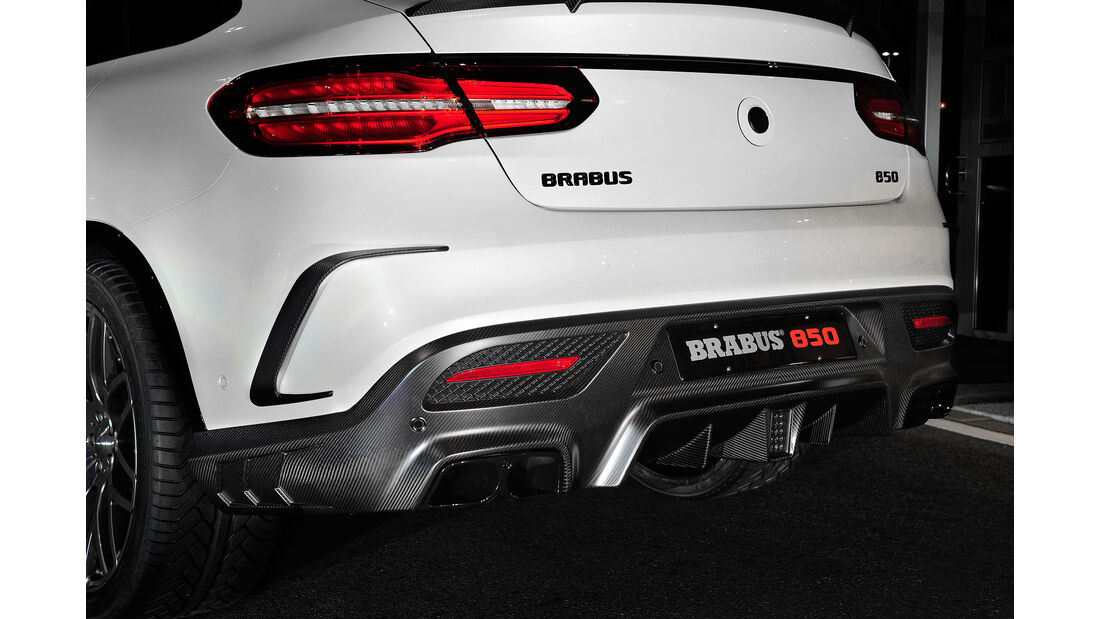 09/2015, BRABUS 850 6.0 Biturbo 4x4 Coupé auf Basis Mercedes GLE 63 Coupé