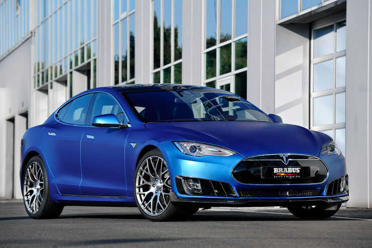 09/2015, BRABUS ZERO EMISSION Tesla Model S