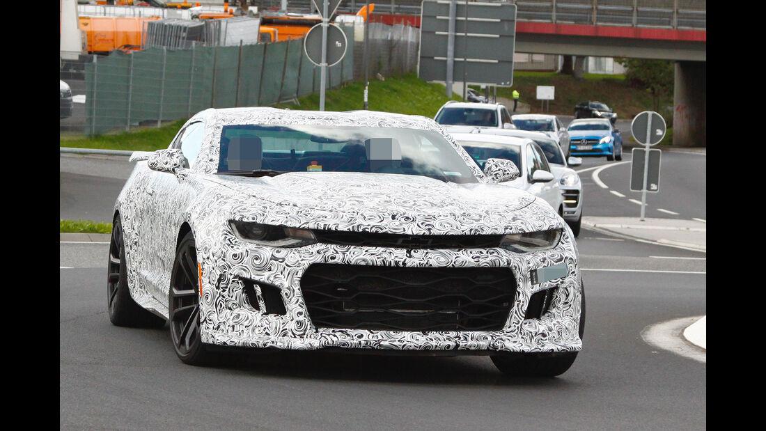 09/2015 Chevrolet Camaro ZL1 Erlkönig