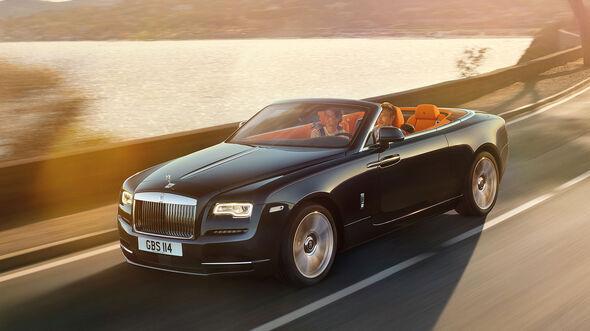 09/2015, Rolls-Royce Dawn Sperrfrist