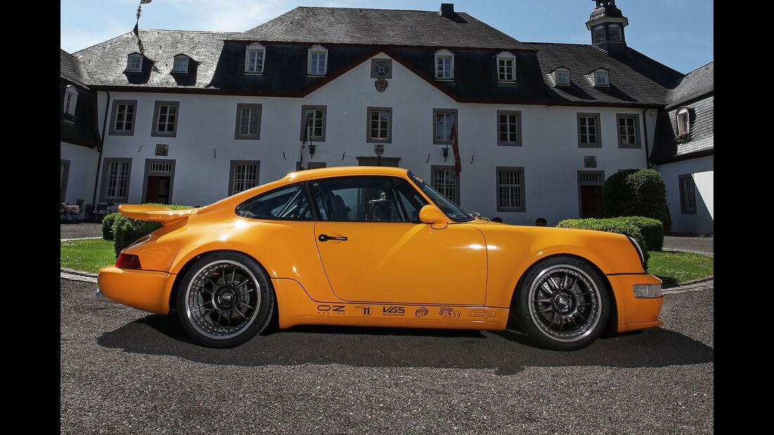 09/2017, DP Motorsport Porsche 911 Typ 964 Project Yellow
