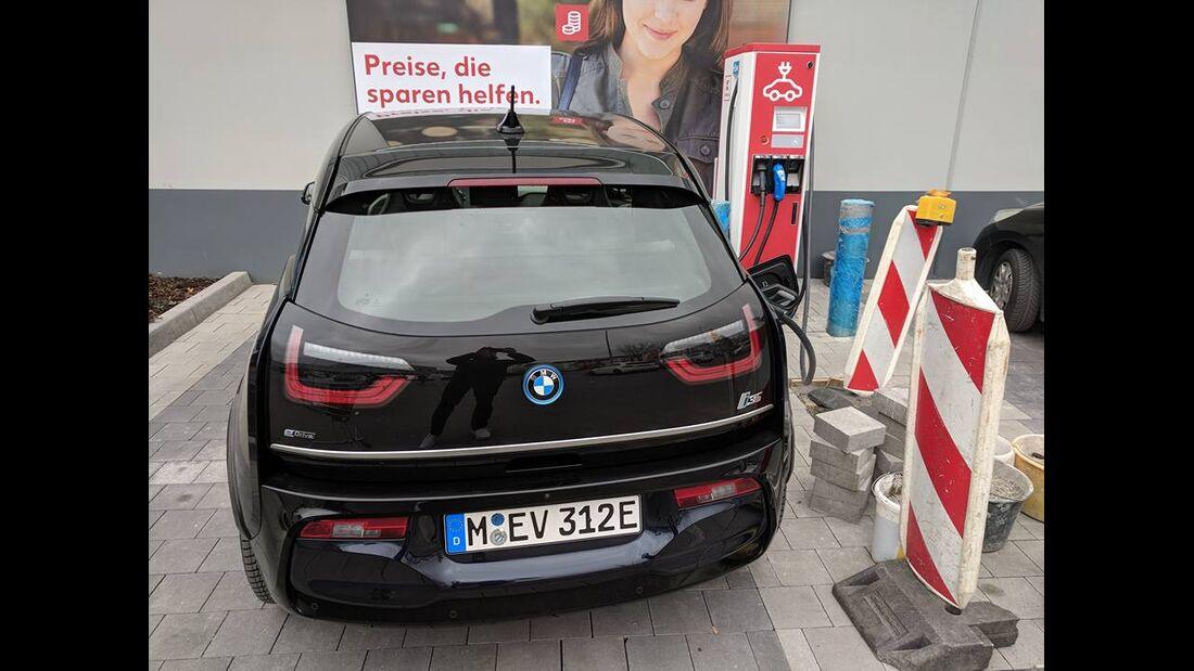 09/2018, BMW i3 Ladesäule