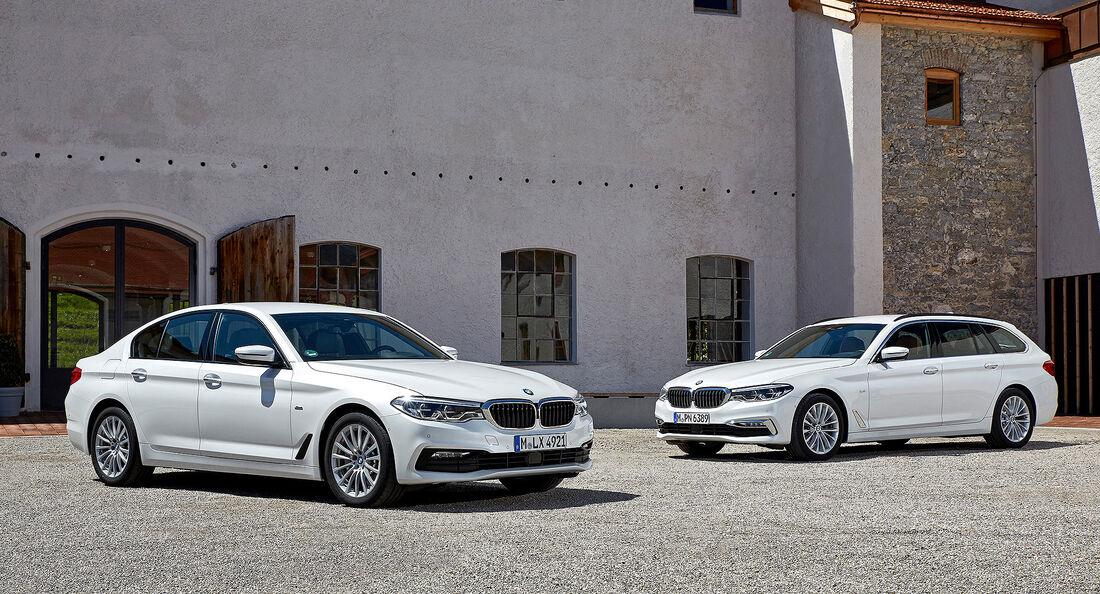 09/2019, BMW 5er mit Mildhybrid-System
