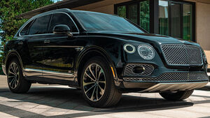 09/2019, Bentley Bentayga W12 von Inkas Armored Vehicles