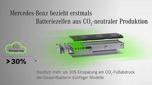 09/2019, Daimler CO2-neutrale Batteriezellen von Farasis Energy