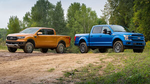 09/2019, Ford Ranger und F-150 mit Offroad-Upgrade